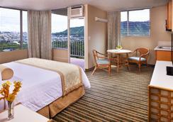 퀸 카피올라니 호텔 - 호놀룰루 - 침실