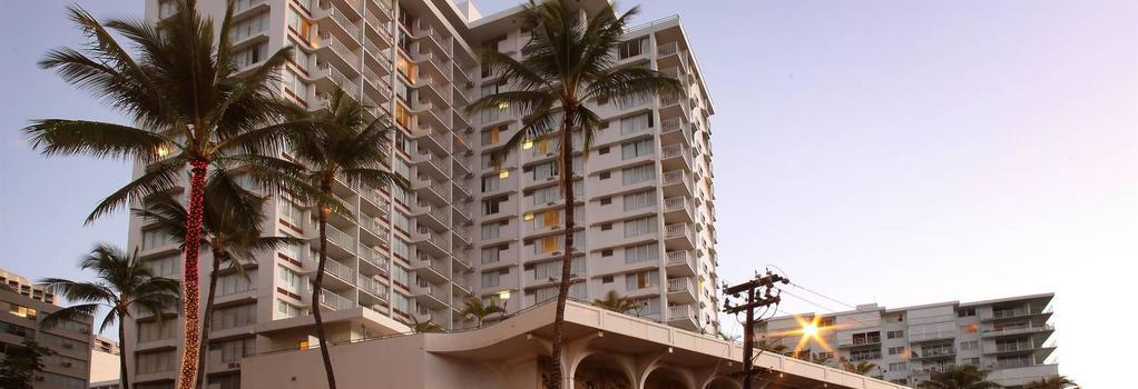 퀸 카피올라니 호텔 - 호놀룰루 - 건물