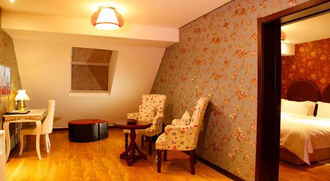 항저우 쉬난베이 부티크 호텔 - 항저우 - 침실