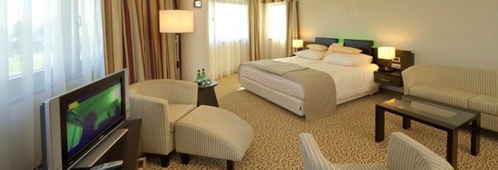Qubus Hotel Krakow - 크라쿠프 - 침실