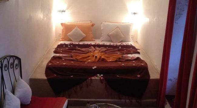리야드 달 사바 호텔 - 마라케시 - 침실