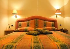 호텔 빌라 델레 로즈 - 로마 - 침실