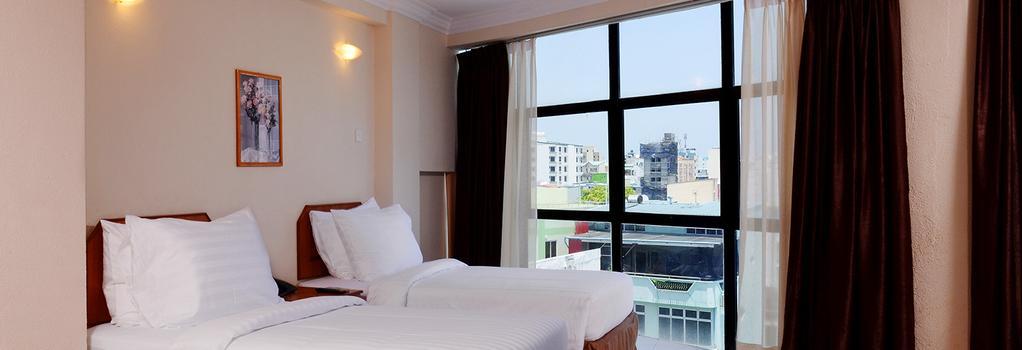 참파 센트럴 호텔 - 말레 - 침실