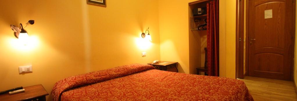 호텔 테르미니 - 로마 - 침실