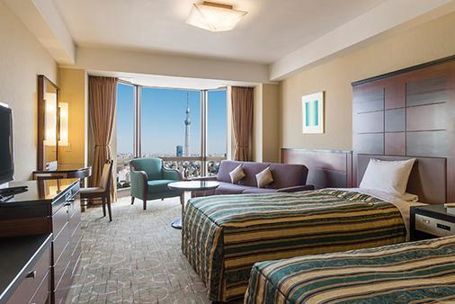 아사쿠사 뷰 호텔 - 도쿄 - 침실