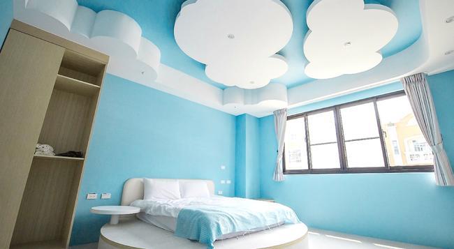 옐로우 카이트 호스텔 - Tainan - 침실