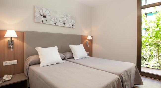 오스탈 센트리크 - 바르셀로나 - 침실