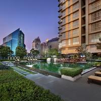 사톤 비스타 방콕 - 메리어트 이그제큐티브 아파트먼트 Outdoor Saltwater Pool