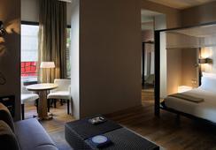옴 호텔 - 바르셀로나 - 침실