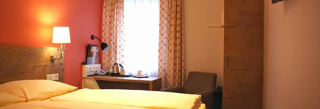 Hotel Azenberg - 슈투트가르트 - 침실