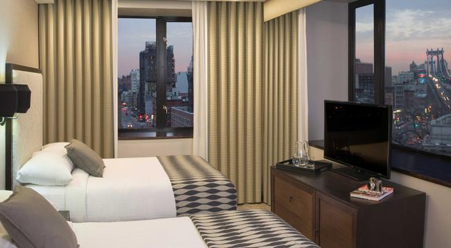레온 호텔 - 뉴욕 - 침실