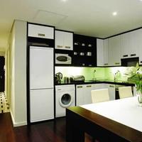 만델라 로도스 플레이스 호텔 앤 스파 In-Room Kitchen