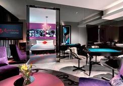 리조트 월드 센토사 하드록 호텔 - 싱가포르 - 침실