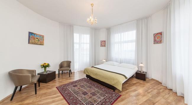 Hotel Vitkov - 프라하 - 침실