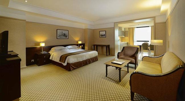 퍼시픽 리젠시 호텔 스위트 - 쿠알라룸푸르 - 침실