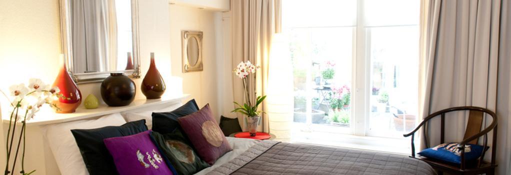 Palace B&B Amsterdam - 암스테르담 - 침실