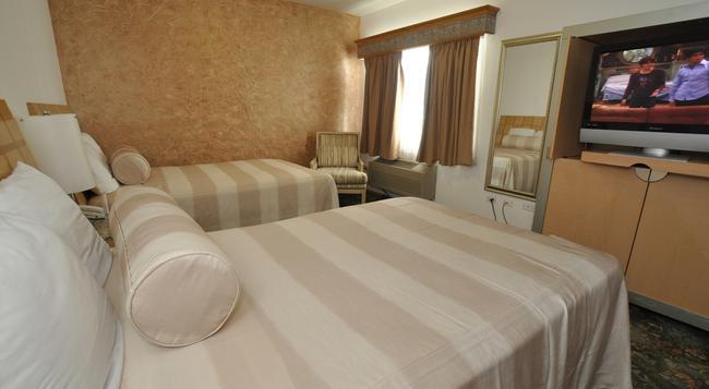 Maria Bonita Business Hotel & Suites - Ciudad Juarez - 침실