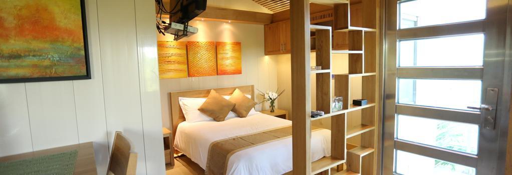 One ON Marlin Spa Resort - 프로비덴시알레스 - 침실