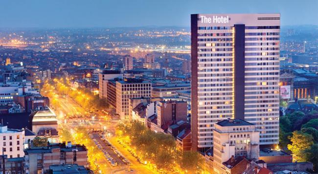 더 호텔 부뤼셀 - 브뤼셀 - 건물