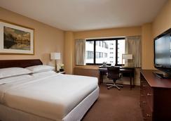 더 맨하탄 호텔 앳 타임스 스퀘어 - 뉴욕 - 침실