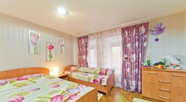 Advanced Trio Hotel - 상트페테르부르크 - 침실