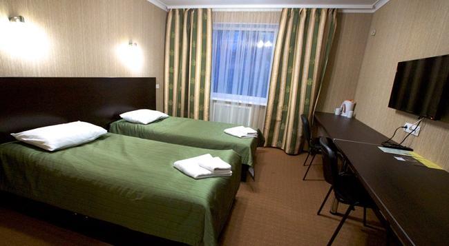 니브키 에코텔 - 키예프 - 침실