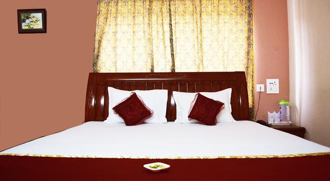 Hotel Avisha - 콜카타 - 침실