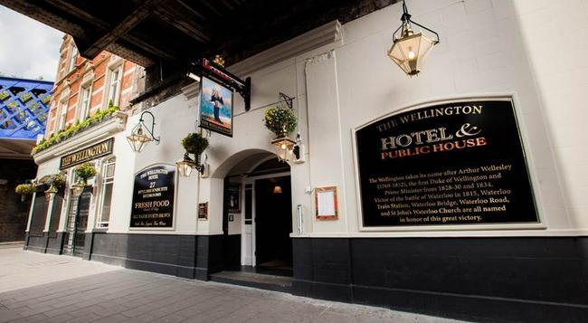 더 웰링턴 호텔 - 런던 - 건물