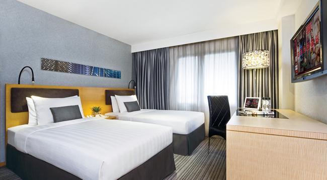 쿠 그린 호텔 완차이 홍콩(구 메트로파크 완차이) - 홍콩 - 침실
