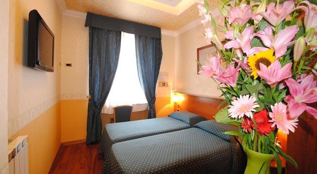 호텔 베로나 롬 - 로마 - 침실