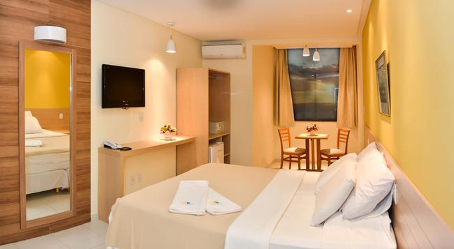 Hit Hotel - 사우바도르 - 침실