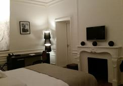Hôtel Château Lacan - Brive-la-Gaillarde - 침실