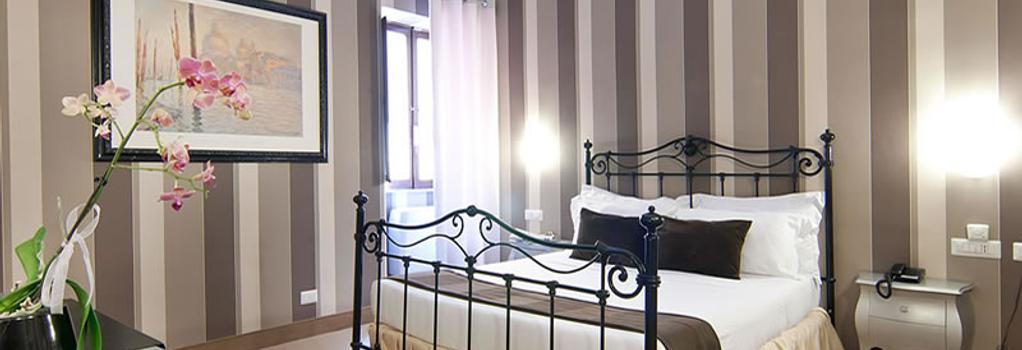 로얄 팰리스 럭셔리 호텔 - 로마 - 침실