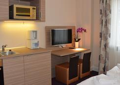 Appartementhotel Hamburg - 함부르크 - 거실