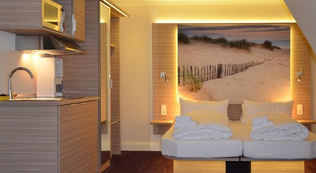 Appartementhotel Hamburg - 함부르크 - 침실