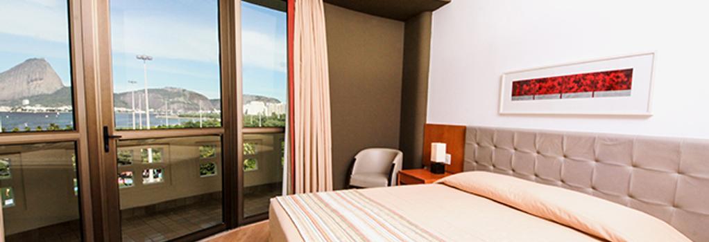 Hotel Novo Mundo - 리우데자네이루 - 침실