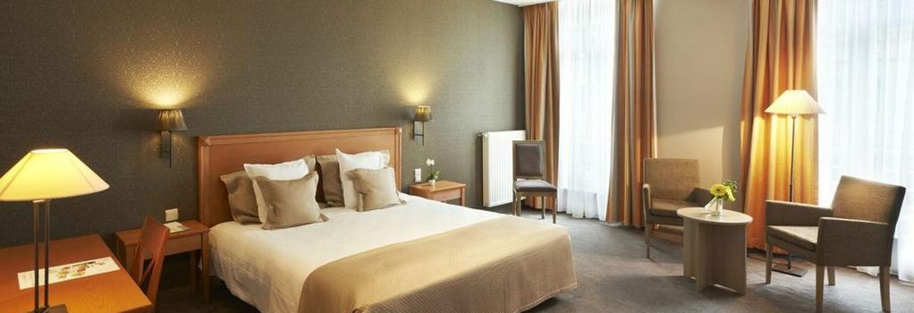 레오폴드 호텔 브뤼셀 EU - 브뤼셀 - 침실