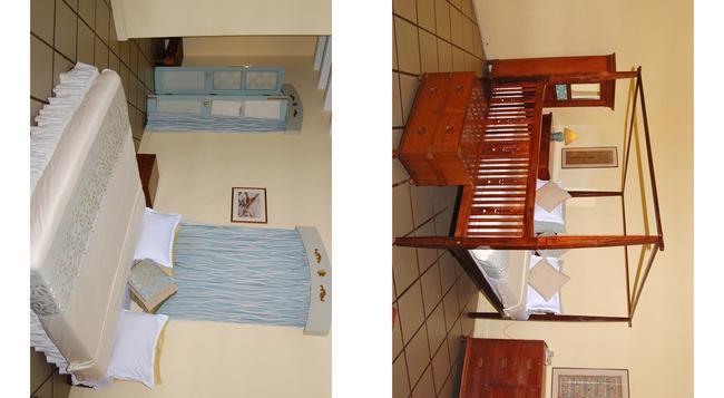 호텔 뒤 파크 - 퐁디셰리 - 침실