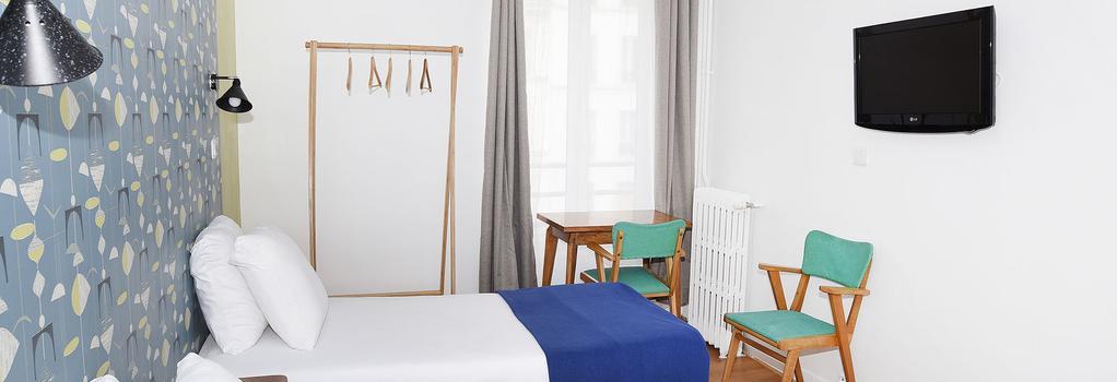 자지에 호텔 - 파리 - 침실