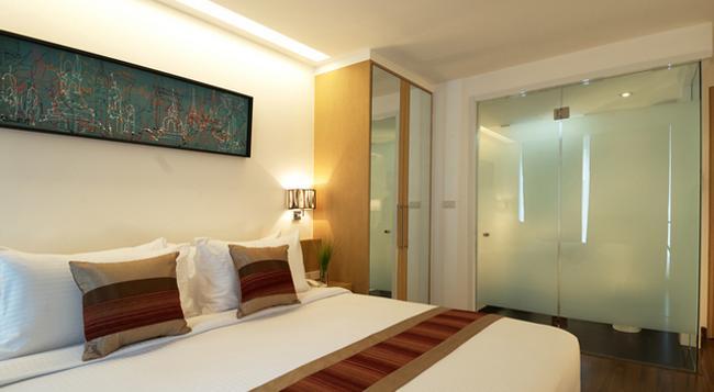 시티포인트 호텔 - 방콕 - 침실