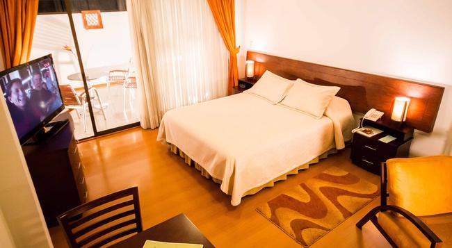 Hotel Cuellars - 파스토 - 침실