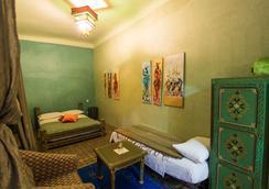 Riad Zinoun & Spa - 마라케시 - 침실