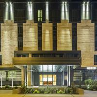 Berd's Design Hotel Aerial View