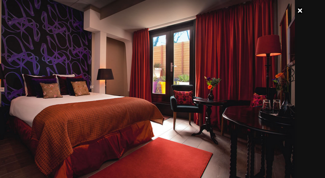 Hotel Sebastian's - 암스테르담 - 침실