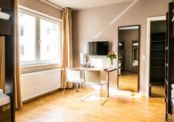 Novum Hotel City Stay Frankfurt - 프랑크푸르트 - 침실