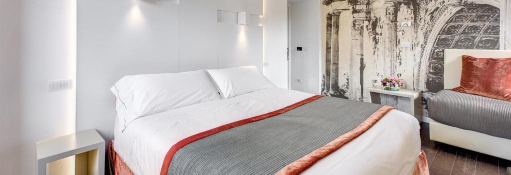 호텔 아브루지 - 로마 - 침실