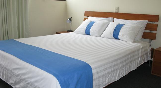 Apartotel La Perla - 산호세 - 침실