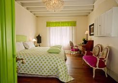 Quinta Miraflores Boutique Hotel - 리마 - 침실