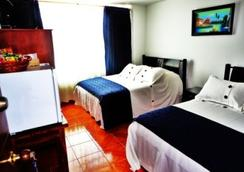 Hotel Casa Sarita - 보고타 - 침실