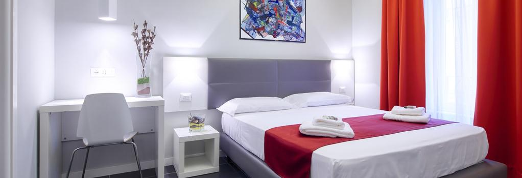홈 타운 스위츠 - 로마 - 침실